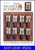 The Prairie Schooler - schemi e link-prairie-schooler-88-old-world-santas-ii-jpg