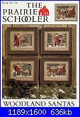 The Prairie Schooler - schemi e link-prairie-schooler-96-woodland-santas-jpg