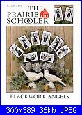 The Prairie Schooler - schemi e link-prairie-schooler-103-blackwork-angels-jpg