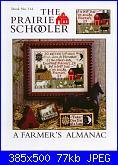The Prairie Schooler - schemi e link-prairie-schooler-144-farmers-almanac-jpg