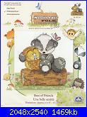 DMC Woodland Folk - schemi e link-dmc-bl-1033-best-friend-jpg