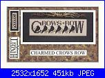 Hinzeit - Schemi e link-charmed-samplers-i-crows-row-cover-jpg