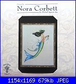 Mirabilia -  Nora Corbett - schemi e link-nc190-mermaid-azure-jpg