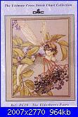 DMC - The Flower Fairies (Cicely Mary Barker) - schemi e link-elderberry-fairy-jpg