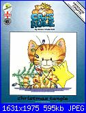 Heritage - Cats Rule - Peter Underhill - schemi e link-crct1234-christmas-tangle-001-jpg
