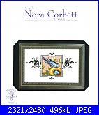 Mirabilia -  Nora Corbett - schemi e link-nc186-blue-monarch-flycatcher-jpg