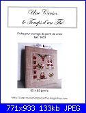 Une Croix, le Temps d'un Thé - schemi e link-cover-jpg