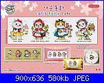 SODA - Giapponesi-Coreani: gruppi, sampler, animali... - schemi e link-so-g151-cats-fairy-tale-jpg