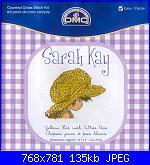 Sarah Kay - schemi e link-dmc-bl-992-sarah-3-jpg