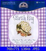 Sarah Kay - schemi e link-dmc-bl-992-g-sarah-3-jpg