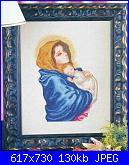 Religiosi: Madonne, Gesù, Immagini sacre- schemi e link-maria_in_azzurro_1-jpg