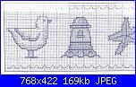 Bordi per bambini (lenzuolini ed altro) schemi e link-asciugamani-con-gabbiano-faro-e-stella-marina-2-jpg