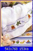 Bordi per bambini (lenzuolini ed altro) schemi e link-asciugamani-con-gabbiano-faro-e-stella-marina-1-jpg
