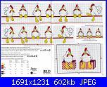 Bordi per bambini (lenzuolini ed altro) schemi e link-asciugamani-con-galline-2-jpg