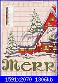 Idee Natalizie per decorare  la casa...- schemi e link-villaggio-natalizio-02-jpg