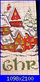 Idee Natalizie per decorare  la casa...- schemi e link-villaggio-natalizio-04-jpg