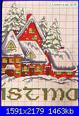 Idee Natalizie per decorare  la casa...- schemi e link-villaggio-natalizio-05-jpg
