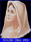 Religiosi: Madonne, Gesù, Immagini sacre- schemi e link-mad-bn-jpg