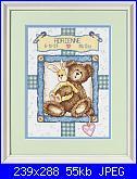Sampler nascita - schemi e link-dimensions-73127-bunny-n-bear-birth-record-jpg
