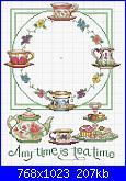 Teiere , caffettiere , bollitori e tazze - schemi e link-orologio-servizio-da-tea-jpg