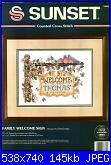 Sampler nascita - schemi e link-family-welcome-sign-sunset-jpg