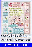 Sampler nascita - schemi e link-gemelli-jpg
