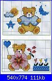 Orsi e orsetti* ( Vedi ANIMALI ) - schemi e link-orsetto-nuvola-orsetta-fiore%C2%A7-jpg