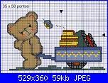 Orsi e orsetti* ( Vedi ANIMALI ) - schemi e link-orsetto-va-scuola-%C2%A7-jpg