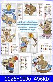 Orsi e orsetti* ( Vedi ANIMALI ) - schemi e link-17-jpg