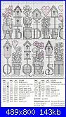 Alfabeti vari* ( Vedi ALFABETI ) - schemi e link-abc-birdhouses-2-jpg
