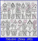 Alfabeti vari* ( Vedi ALFABETI ) - schemi e link-abc-birdhouses-1-jpg
