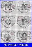 Alfabeti romantici* ( Vedi ALFABETI ) - schemi e link-alfabeto-patchwork-1-2-jpg