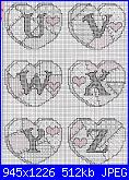 Alfabeti romantici* ( Vedi ALFABETI ) - schemi e link-alfabeto-patchwork-1-4-jpg