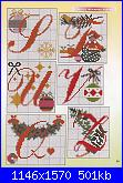 Alfabeti  feste* ( Vedi ALFABETI ) - schemi e link-alfabeto-natalizio-jpg