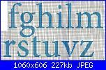 Alfabeti semplici* ( Vedi ALFABETI ) - schemi e link-lfa-orsetti-vestiti-giallo-minuscole-2-jpg