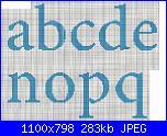 Alfabeti semplici* ( Vedi ALFABETI ) - schemi e link-lfa-orsetti-vestiti-giallo-minuscole-1-jpg