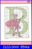 Alfabeti mondo fantastico* ( Vedi ALFABETI ) - schemi e link-lettera-b-jpg