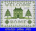 Welcome - Casa dolce casa - Home sweet home*- schemi e link-welcome-casa-3-jpg
