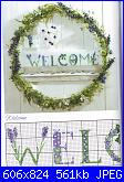 Welcome - Casa dolce casa - Home sweet home*- schemi e link-acufactum-welcome-3-jpg
