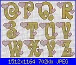 Alfabeti romantici* ( Vedi ALFABETI ) - schemi e link-1-2-jpg