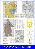Schemi per bavette, bavaglini - schemi e link-cats-jpg