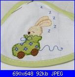 Schemi per bavette, bavaglini - schemi e link-fralda-saul-2-jpg