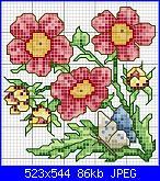 Fiori, fiori, fiori e ancora fiori!* ( Vedi FIORI) - schemi e link-disegni-punto-cr-11-jpg