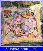 Cuscini,Pillows,Almofadas,Coussins* - schemi e link-cuscino-con-farfa-jpg