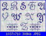 Alfabeti semplici* ( Vedi ALFABETI ) - schemi e link-alfa-maiuscolo-script-blu-e-azzurro-2-jpg