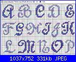 Alfabeti semplici* ( Vedi ALFABETI ) - schemi e link-alfa-maiuscolo-dcript-blu-e-azzurro-jpg