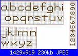 Alfabeti semplici* ( Vedi ALFABETI ) - schemi e link-alfa-stampato-minuscolo-99-jpg