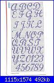 Alfabeti semplici* ( Vedi ALFABETI ) - schemi e link-1-14-jpg