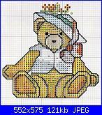 Orsi e orsetti* ( Vedi ANIMALI ) - schemi e link-orsetta-con-cappellino%C2%A7-jpg