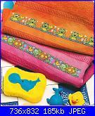 Bordi per bambini (lenzuolini ed altro) schemi e link-asciugamani-jpg